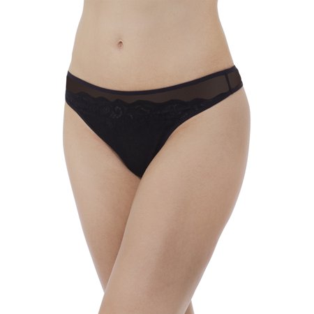 - Women's Lace & Layers Thong, Style 18020
