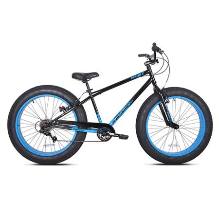 "26"" Kent Mens Devastator 7-speed Fat Tire Bike, Multiple Colors by"
