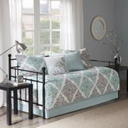 Home Essence Arbor 6 Piece Printed Daybed Set With Reversible Shams