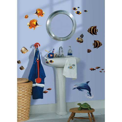 RoomMates Under the Sea Peel & Stick Wall Decals
