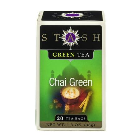 Stash Thé vert Chai Thé vert, 20 sachets de thé, 38g