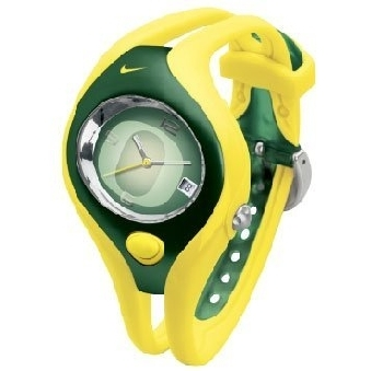 NIKE TRIAX SWIFT ANALOG NCAA UNIVERSITY OF OREGON TEAM SPORT WATCH WD0024-701