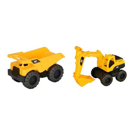 Caterpillar Tough Tracks Construction Crew Dump Truck and Excavator 2 (Construction Excavator)