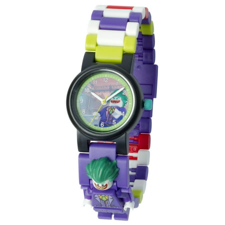 THE LEGO® BATMAN MOVIE The Joker™ Minifigure Link Watch for $<!---->