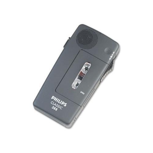 Philips Pocket Memo 388 Slide Switch Mini Cassette Dictation Recorder PSPLFH0...