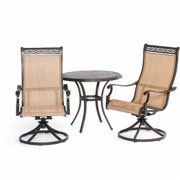 Hanover MANDN3PCSW-BS Manor 3 Piece Bistro Set