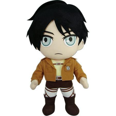 Plush - Attack on Titan - New Eren 18'' Toys Soft Doll ge52753 - image 1 de 1