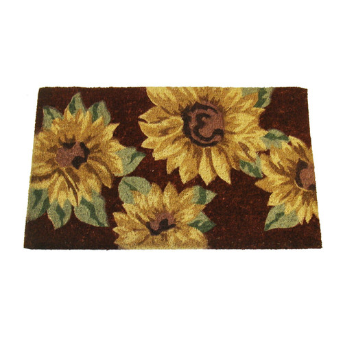 Geo Crafts, Inc Sunflower Doormat