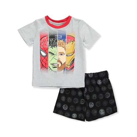 Avengers Boys' 2-Piece Shorts Set Outfit](Avengers Outfit)