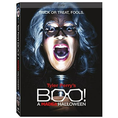 Tyler Perry's Boo! A Madea Halloween (DVD) - Halloween Tree Movie Netflix