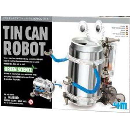 Tin Can Robot Green Science Kit (Green Science Tin Can Robot)