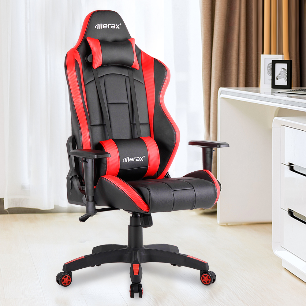 Merax High Back Desk Ergonomic Design Computer Gaming