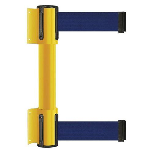 TENSATOR 896T2-35-MAX-L5X-C Belt Barrier, 13 ft, Blue, Yellow