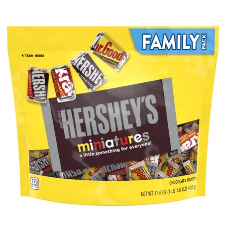 Hersheys Miniatures Chocolate Candy - 17.6oz