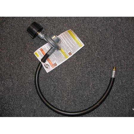 """Weber Gas Grill Replacement 21"""" Regualtor & Hose 1/8"""" NPT Male Threads"""