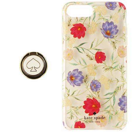 Kate Spade Case & Ring Stand for iPhone 8 Plus/7 Plus/6s Plus - Clear /