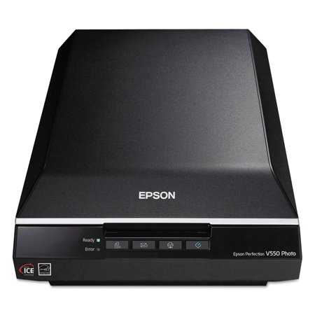 Epson Perfection V550 Photo Color Scanner, 6400 x 6400