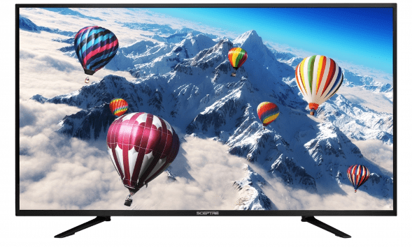 "Click here to buy Sceptre 55"" Class 4K (2160P) LED TV (U550CV-U) by Sceptre."