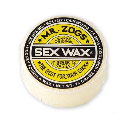 Hockey Stick Wax - Sex Wax HOCKEY STICK WAX WHITE Mr. Zogs