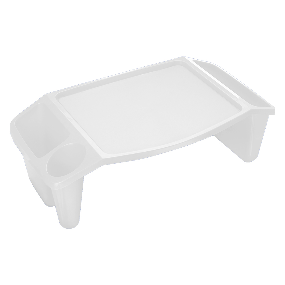 Large White Lap Tray with Large Work Surface, 1 Each