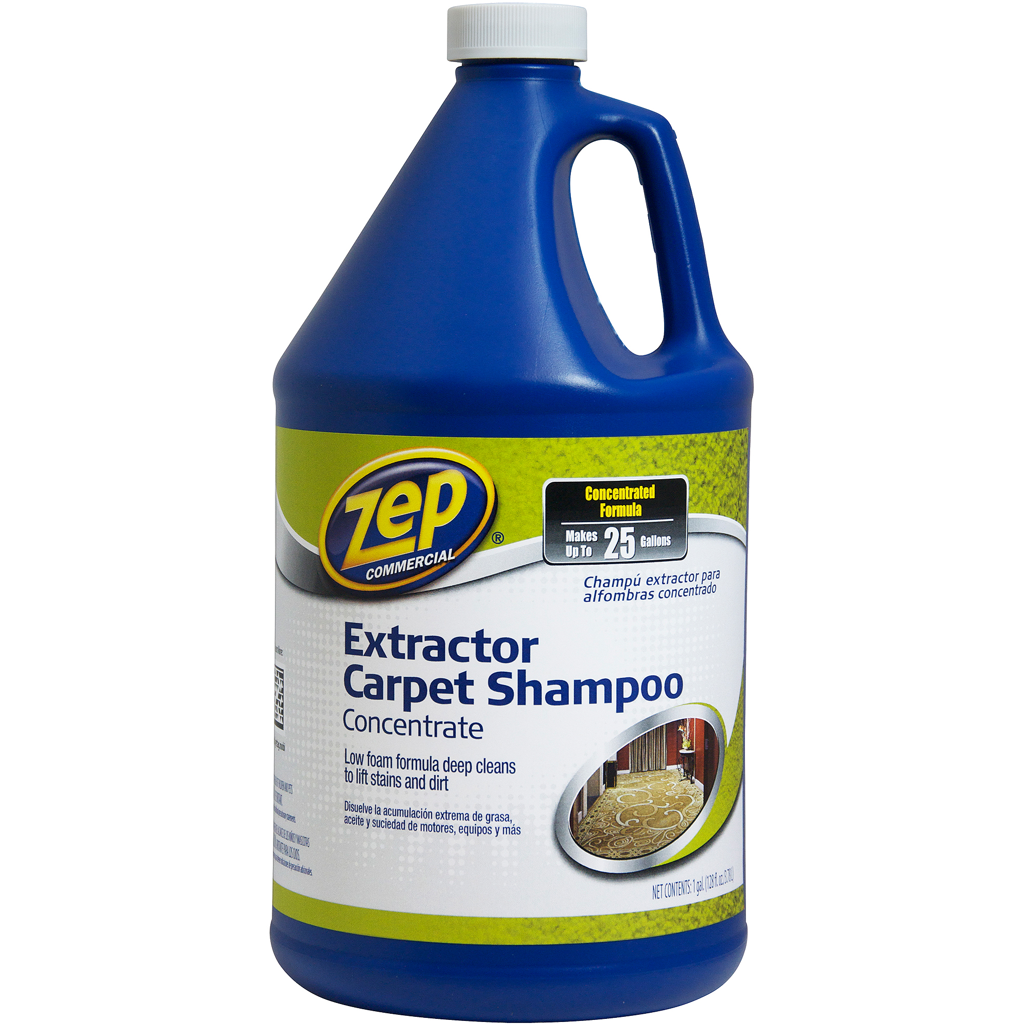 Zep Commercial Extractor Carpet Shampoo, 1 gal