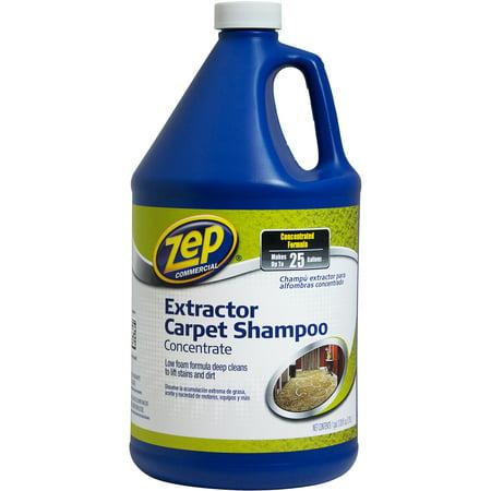 Zep Commercial Extractor Carpet Shampoo 1 Gal Walmart Com