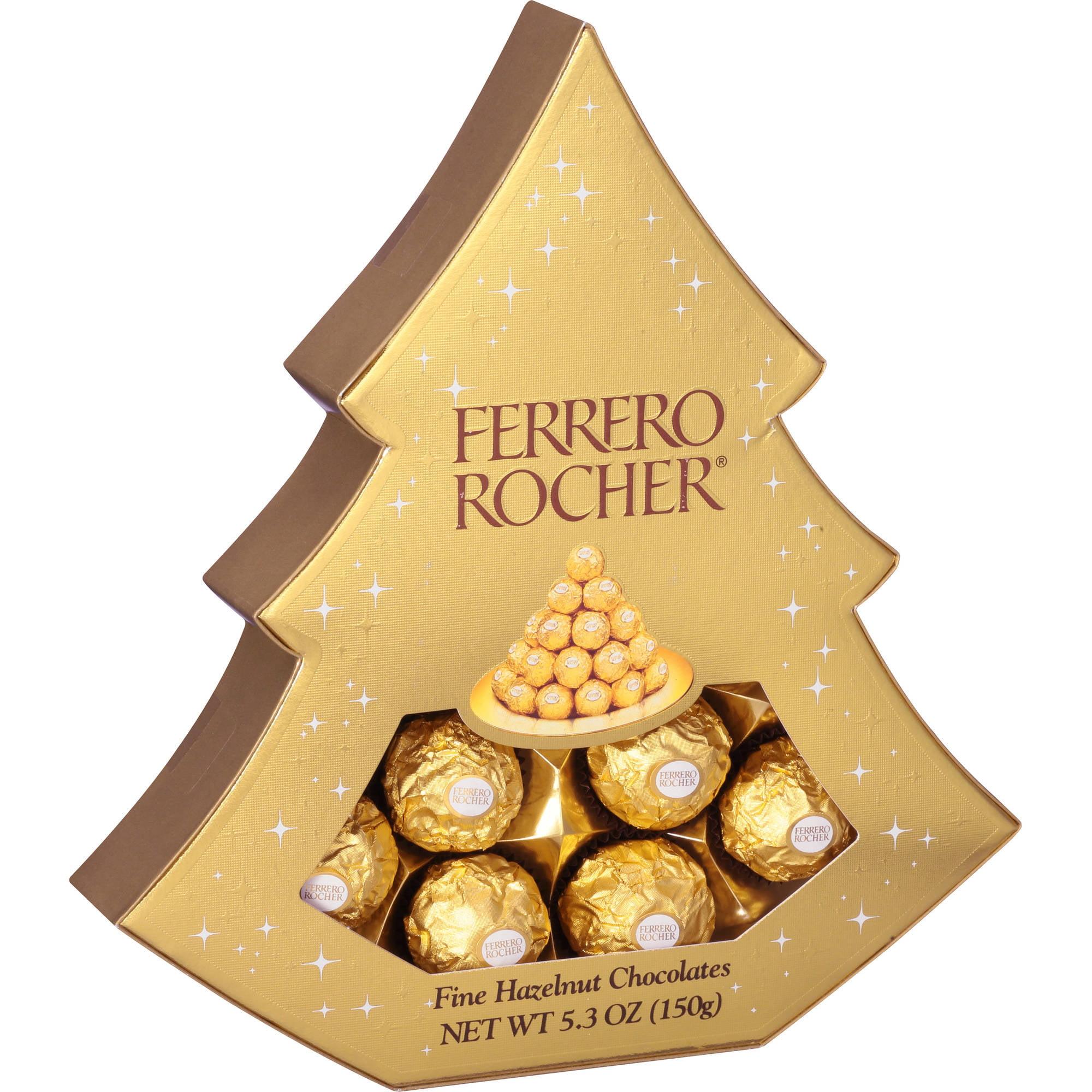 Ferrero Rocher Fine Hazelnut Chocolates, 5.3 oz