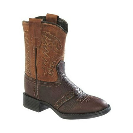 Infant Old West Round Toe Western Cowboy Boot - Toddler (Old Western Cowboy)