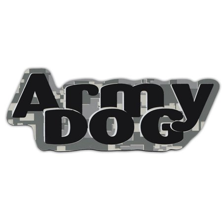Military Car Magnets: Army Dog (Digital Camouflage Design) | United States Army