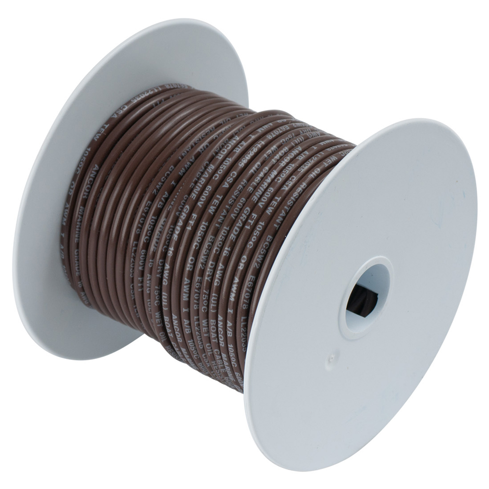 Ancor Marine Grade Tinned Copper Primary Wire, 14 ga