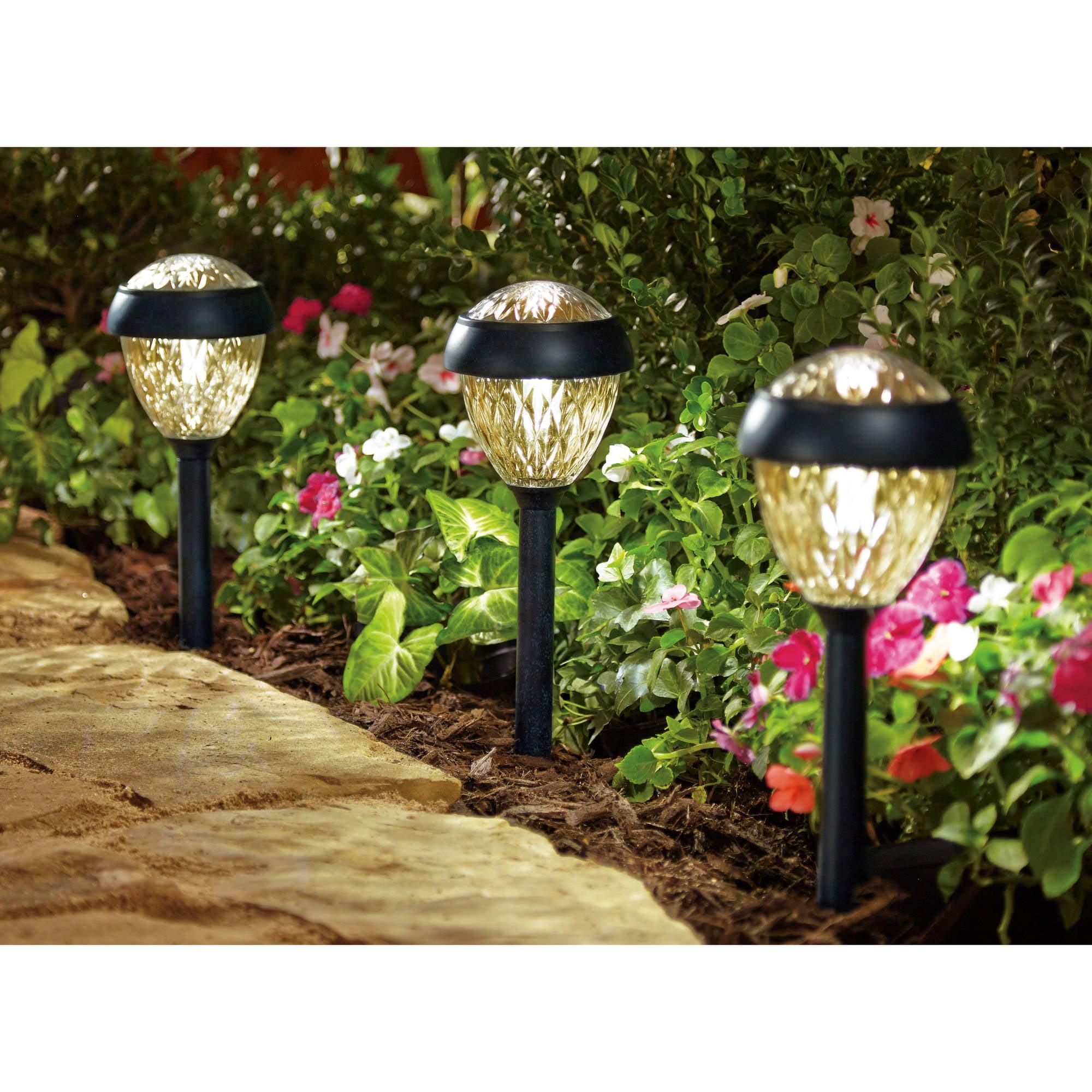 Better Homes & Gardens Abington Solar Landscape Light Set - Pewter