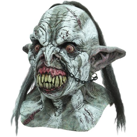 Battle Orc Halloween Adult Latex - Orc Mask
