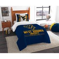 "NCAA West Virginia Mountaineers ""Modern Take"" Bedding Comforter Set"