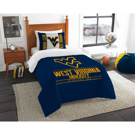 Virginia Tech Twin Comforter - NCAA West Virginia Mountaineers