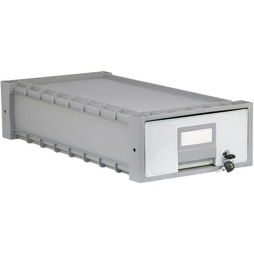 "Storex Plastic Archive Storage Box, 24"" Drawer"
