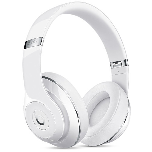 Refurbished Apple Beats Studio 2.0 Wireless Gloss White Over Ear Headphones MP1G2LL/A