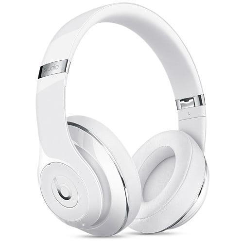 Refurbished Apple Beats Studio 2.0 Wireless Gloss White Over Ear Headphones MP1G2LL/A