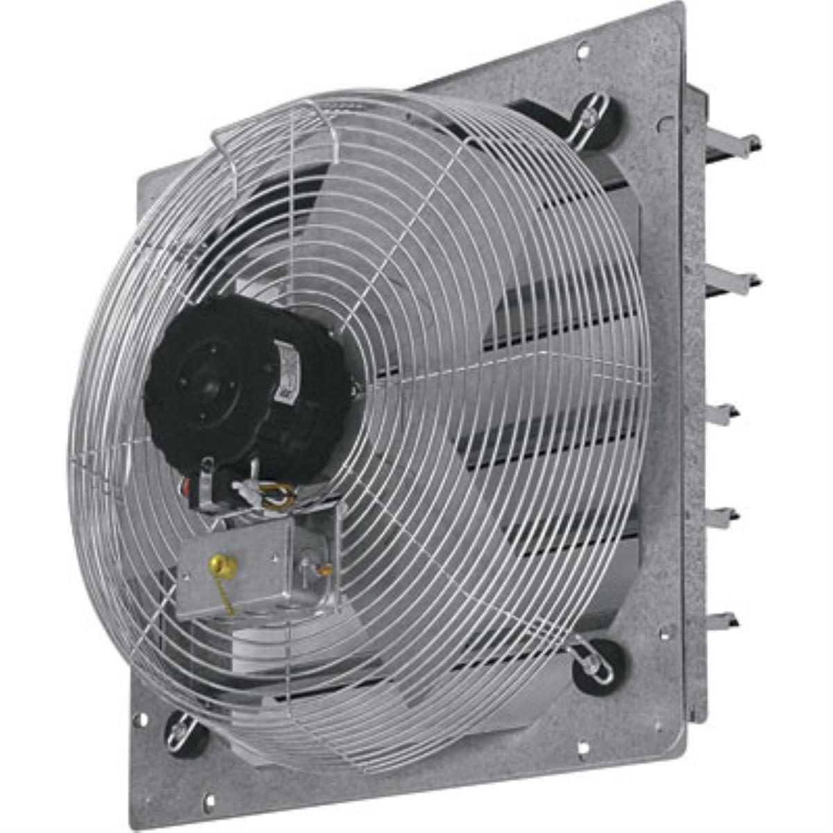 TPI CE20-DS 20 inch Shutter Mounted Direct Drive Exhaust Fan