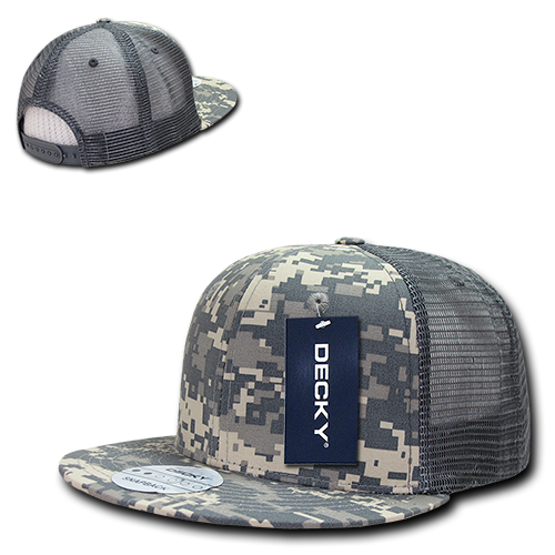 Decky Flat Bill RipStop Trucker Baseball Hats Caps Cap For Men Women Olive  Drab - Walmart.com fffa9b7848c4