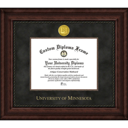 "University of Minnesota 8.5"" x 11"" Executive Diploma Frame"