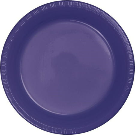 Touch Of Color Heavy Duty Plastic Plates, 7