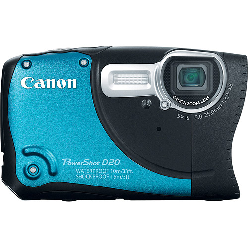 CANON 6145B001 12.1 Megapixel PowerShot(R) D20 Digital Camera