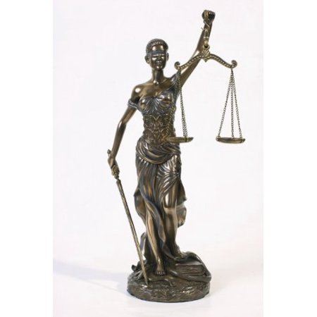 Lady Justice Statue - * Sale * Blind Lady Justice Statue Law Office Lawyer Gift - Magnificent !!