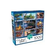 Buffalo Games 1000 Piece Darrell Bush Puzzle