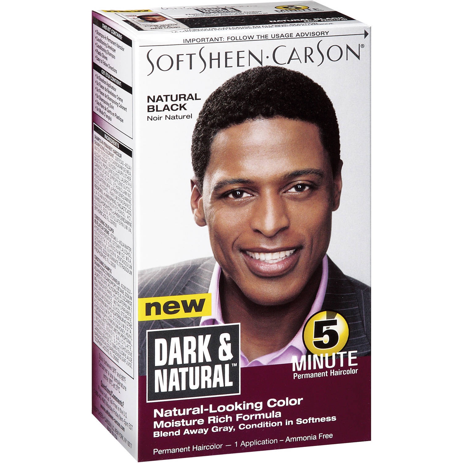 Clairol Nice N Easy Hair Color Natural Black