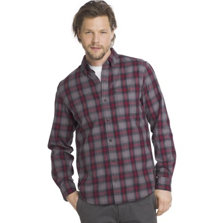 GH Bass Mens Camp Side - Flannel Cap
