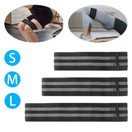 Yoga Pilates Resistance Band, Resistance Loop Band Best Home Gym Fitness Exercise Bands for Legs, Glutes, Crossfit Workout, Physical Therapy Pilates Yoga & Rehab - Improve Mobility & Strength (Best Exercise Machine For Cellulite)