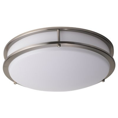 Led Decorative Ceiling Light Brushed Nickel