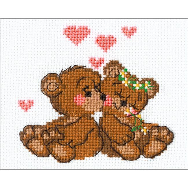 Little Imps Counted Cross Stitch Kit, 6.25 x 5 in. - 10 Count