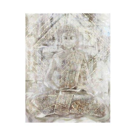Ivory Buddha Print Wall Art By Edward Selkirk